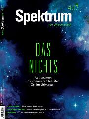 Spektrum der Wissenschaft: April 2017