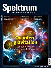 Spektrum der Wissenschaft: August 2016