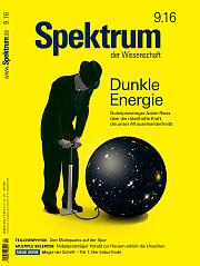 Spektrum der Wissenschaft: September 2016