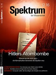 Spektrum der Wissenschaft: Dezember 2016