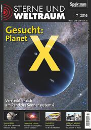 Sterne und Weltraum: Juli 2016
