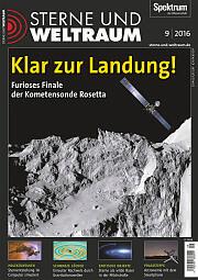 Sterne und Weltraum: September 2016