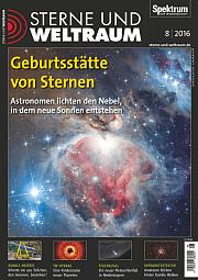 Sterne und Weltraum: August 2016