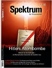 Spektrum der Wissenschaft: Dezember 2016 PDF