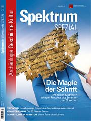 Spektrum der Wissenschaft: Spezial Archäologie - Geschichte - Kultur 3/2016