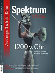 Spektrum der Wissenschaft: Spezial Archäologie - Geschichte - Kultur 4/2016