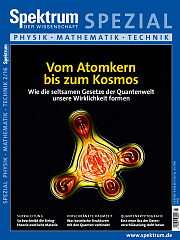 Spektrum der Wissenschaft: Spezial Physik - Mathematik - Technik 2/2016