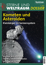 Sterne und Weltraum: Dossier 1/2015